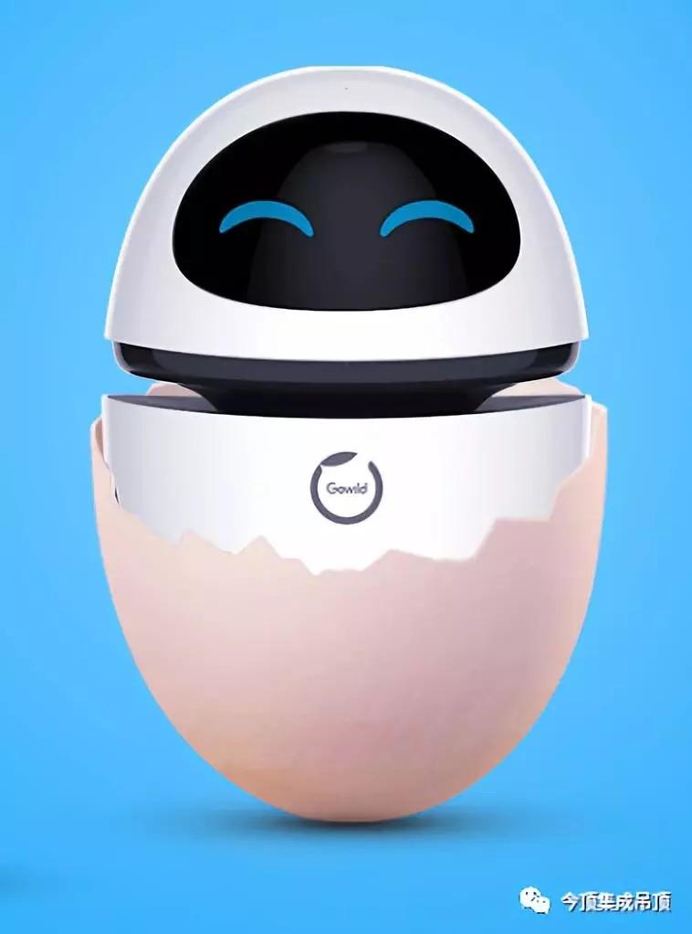 今顶智能语音机器人 小白